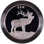 2003 United States Mint National Wildlife Refuge Centennial Medal-Elk Proof - obverse
