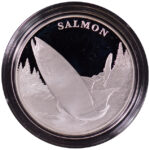 2003 United States Mint National Wildlife Refuge Centennial Medal-Salmon Proof - obverse