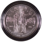 2004 P Lewis and Clark Bicentennial Silver Dollar Ch. BU for sale obverse