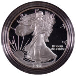 1987 S Proof Silver Eagle for sale obverse