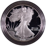 1988 S Proof Silver Eagle for sale obverse