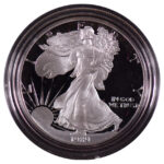 1989 S Proof Silver Eagle for sale obverse