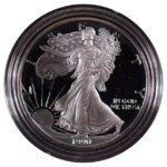 1990 S Proof Silver Eagle for sale obverse