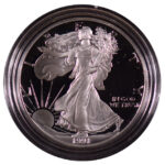 1991 S Proof Silver Eagle for sale obverse