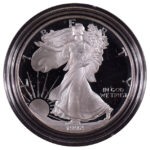 1992 S Proof Silver Eagle for sale obverse
