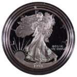1993 P Proof Silver Eagle for sale obverse