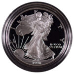 1998 P Proof Silver Eagle for sale obverse
