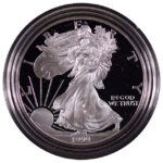 1999 P Proof Silver Eagle for sale obverse