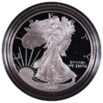 2000 P Proof Silver Eagle for sale obverse