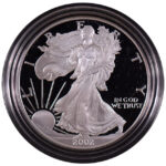 2002 W Proof Silver Eagle for sale obverse