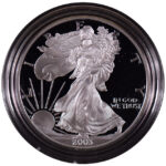 2003 W Proof Silver Eagle for sale obverse