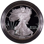 2004 W Proof Silver Eagle for sale obverse