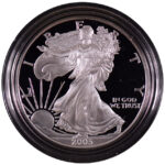 2005 W Proof Silver Eagle for sale obverse