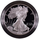 2006 W Proof Silver Eagle for sale obverse