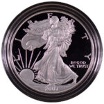 2007 W Proof Silver Eagle for sale obverse