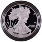 2008 W Proof Silver Eagle for sale obverse