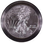 2012 W Uncirculated Silver Eagle for sale obverse
