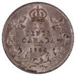 Canada 1928 10 cents au for sale F193 reverse