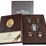 2009 Lincoln Coin & Chronicles Set for sale box
