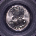 Close up 1941 Washington Quarter MS65 PCGS for sale 5814.65-13648061 obverse