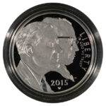 2015 W March of Dimes Commemorative Dollar Ch. PF obverse