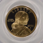 Close up 2006 S Sacagawea Dollar PR70 DCAM PCGS for sale 916004.70-08999704 obverse