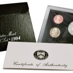 1994 Silver Proof Set for sale obverse
