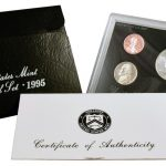 1995 Silver Proof Set for sale obverse