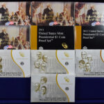 2007 to 2016 Presidential Dollar Proof Sets for sale boxes