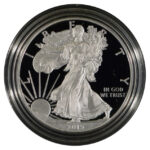 2015 W Proof Silver Eagle for sale obverse