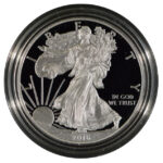 2016 W Proof Silver Eagle for sale obverse