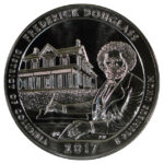 2017 Frederick Douglass (DC) America the Beautiful 5 Ounce Silver Quarter uncirculated for sale reverse