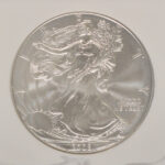 Close up 2008 W Silver Eagle Dollar MS69 NGC for sale 3198189-045 obverse