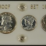 1940 Silver Proof Set for sale obverse