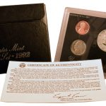 1992 Silver Proof Set for sale obverse