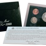 1993 Silver Proof Set for sale obverse