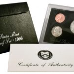 1996 Silver Proof Set for sale obverse