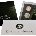 1997 Silver Proof Set for sale obverse