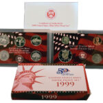 1999 Silver Proof Set for sale obverse
