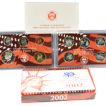 2002 Silver Proof Set for sale obverse
