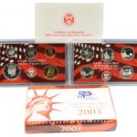 2003 Silver Proof Set for sale obverse