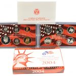 2004 Silver Proof Set for sale obverse