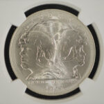 Close up 2011 S US Army Commemorative Dollar MS69 NGC 2470540-008 for sale obverse