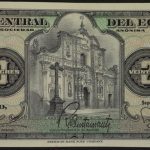 Ecuador 1973 20 Sucres cu for sale 05967521 face
