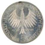Germany 1964 J 5 Marks ch bu for sale f244 reverse