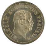 Germany Prussia 1869 Half Silber Groschen ms65 for sale f242 obverse