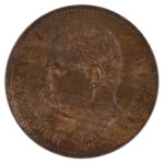 Italy 1897 2 Centtesimi ms63rb for sale f247 obverse