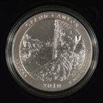 2010 P Grand Canyon (AZ) America the Beautiful 5 Ounce Silver Quarter Burnished for sale reverse