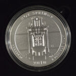 2010 P Hot Springs (AR) America the Beautiful 5 Ounce Silver Quarter Burnished for sale reverse