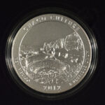 2012 P Chaco Culture (NM) America the Beautiful 5 Ounce Silver Quarter Burnished for sale reverse
